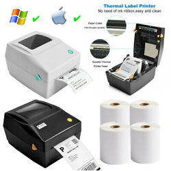 4x6 Usb Direct Thermal Printer Barcode For 4x6 Shipping Labels Ups Fedex Usps