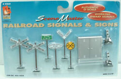 Life Like 1852 O Scale Railroad Signals And Signs