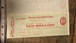 333  Five Osceola Consolidated Mine Of Houghton Michigan Scripts 1800s