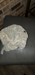 Army Acu Ach Mich Made W/ Kevlar Helmet Cover One Size Fits Most