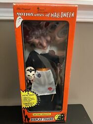 Vintage 1990 Motionette Witch Halloween Anamatronic Decoration Telco 95730