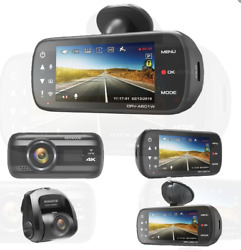 New Kenwood Drv-a601wdp Gps Integrated Dual Dash Cam Package With Wi-fi. 4k