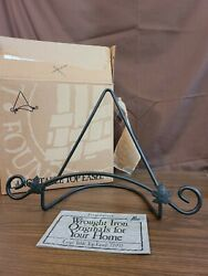Longaberger Wrought Iron Foundry 77992 Large Tabletop Easel 1999 New In Box