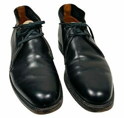 Vintage Menand039s French Shriner Dress Shoes Size 7 Neolite Good Year Heel