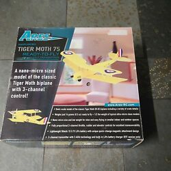 Ares Tiger Moth Tiny Nano Micro Rc Airplane Untested See Description As Is