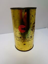 Contenental Can Company 77 Mil. Wis. Advertisment Bank Flat Top Beer Soda Can