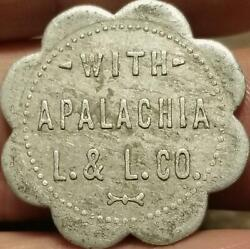 R10 Scrip Token L. And L. Co. Land And Lumber Apalachia North Carolina Good For 25