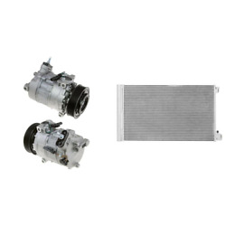 A/c Compressor And A/c Condenser Kit For 2013 Buick Regal