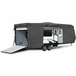 Waterproof Durable Rv Motorhome Travel Trailer / Toy Hauler Cover Fits Length...