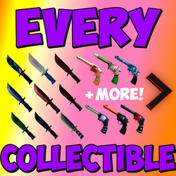 Mm2 Roblox All Collectible Guns/knives- Fast And Cheap