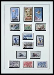 Lot 34163 Stamp Collection French Antarctica 1955-1984.
