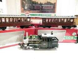 Lgb 72869 Sandy River Special Super Set- Boxed - 21251 Loco And Psngr Cars - Exc.