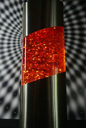 French Glitter Lamp Vintage 70's Space Age Psychedelic Design