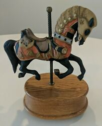 Vintage Willitts Carousel Collection - Music Box - Carousel Waltz 60