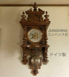 Made In Germany Junghans Wall Clock Antique
