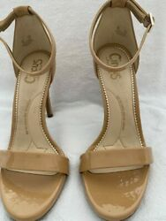 Circus by Sam Edelman Classic Nude Pre Owned 7M Patent Leather Heels $28.00