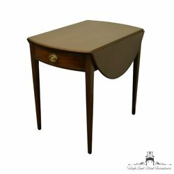 Kittinger Furniture Solid Mahogany Duncan Phyfe Style Traditional 39 Drop-le...