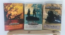 Disney National Treasure Lot Of 3 By Hapka, Catherine Books 1, 3 And 4 Mystery