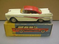 Joustra Serie Cadet 1958 Ford 2 Door Sedan Tin Friction Toy Made In France Nmib