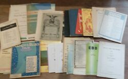Job Lot Vintage Sheet Music Songs See List For Details