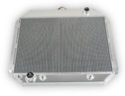For 68-79 Ford F100 F150 F250 V8 Engine 3row Performance Radiator W/ Oil Cooling