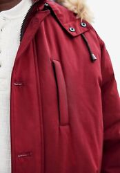 Kingsize Menand039s Big And Tall Arctic Down Parka With Detachable Hood And Insulated
