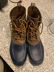 Sperry Boots Size 13 Mens Duck Boots Great Condition