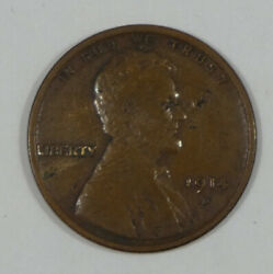 Bargain 1914-d Lincoln/wheat Ears Rev Cent Very Fine Desirable Date