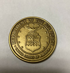 Veterans Of Of Foreign Wars Vfw Challenge Coin - Department Of The Air Force