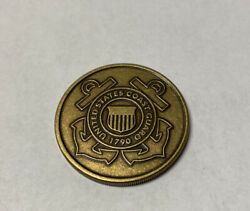 Veterans Of Of Foreign Wars Vfw Challenge Coin - United States Coast Guard