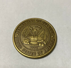 Veterans Of Of Foreign Wars Vfw Challenge Coin - Department Of The Army