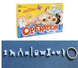 Operation Game Pieces And Parts Replacement Complete Set Of 12 Ailments