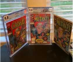 🔥1st Appearance Cable/homage Trionew Mutants87-cable150-2nd Print 87 Cgc🔥