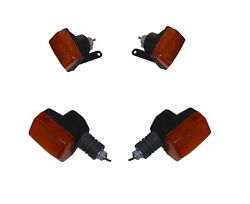 Blinkers Complete Set Of 4 Front And Rear For Honda Cbr 600 F1 1987-1990