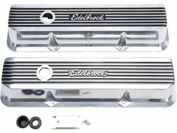 For 1962-1971 Ford Galaxie 500 Engine Valve Cover Set Edelbrock 33411ty 1965