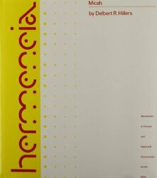 Micah Hermenia By Hillers New 9780800660123 Fast Free Shipping-.