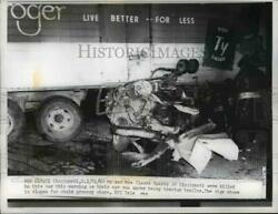 1962 Press Photo Mr Mrs Claude Sparks Killed Car And Tractor Trailer Accident Ohio