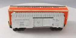 Lionel 6464-1 Vintage O Western Pacific Boxcar - Type I W/ Blue Letters/box