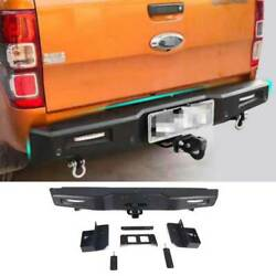 Combat Black Rear Door Trunk Lid Tailgate Guard Plate For Ford Ranger 2015-2021