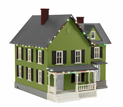 Mth 30-90591 O Railking 4 Country House With Operating Christmas Lights