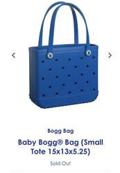 Bogg Weatherproof Washable Rubber Small Baby Bag - Blue