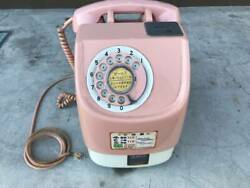 [operation Unconfirmed]japanese Public Phone 10 Yen Pink Telephone Payphone Made