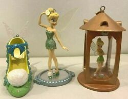 Tinkerbell Ornament 3-piece Set Disney Store Limited Peter Pan New From Japan