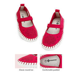 Kids Girls Flat Shoes Dress Shoes Slip On Ballerina Loafers Shoes Size US $9.99