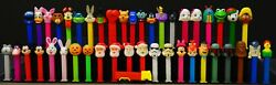 Collection Of 45 Vintage/current Pez Candy Dispensers