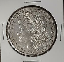 1886-o 1 Morgan Silver Dollar New Orleans Mint Fine Details Circulated 71121c