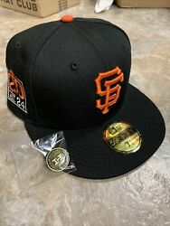 Hat Club Exclusive San Francisco Giants 7 1/2 Grey U 20th Anniversary Side Patch