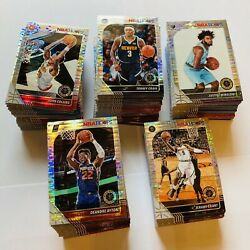 2019-20 Hoops Premium Stock Huge Silver Pulsar Prizm Lot Of 224 Cards No Dupes