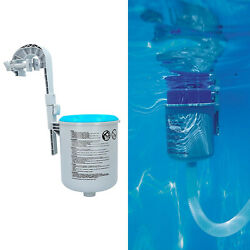 1 Set Pool Surface Skimmer Extrator Automatic Cleaning Floating Debris