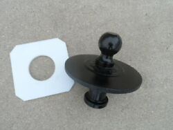 Kingpin To Goose-neck Fifth Wheel Hitch Adapter For Semi-tractors